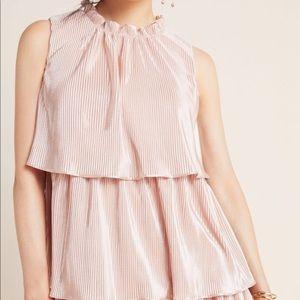 Anthropologie Blush Dress